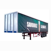 New Design Box Semi Trailer