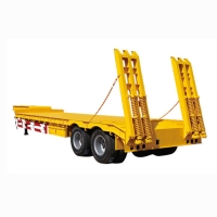 New Design 3 Axle Low Bed Semi Trailer