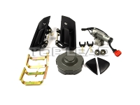 SINOTRUK HOWO A7 High floor door lock assembly (remote T7H) Part No.:WG1664341002 AZ1664341002