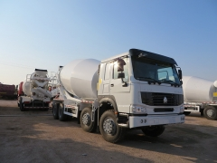 New Design SINOTRUK HOWO 8x4 Cement Mixer Truck, 10 Cubic Meters Concrete Mixer Truck, Cement Concrete Mixer Truck