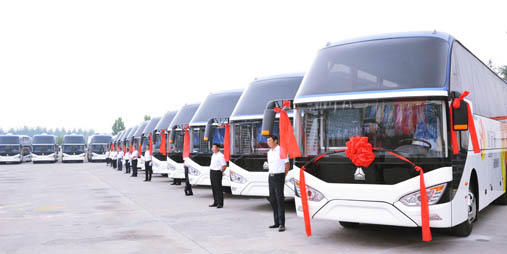 SINOTRUK delivers high-grade buses to SDPTG in large volume