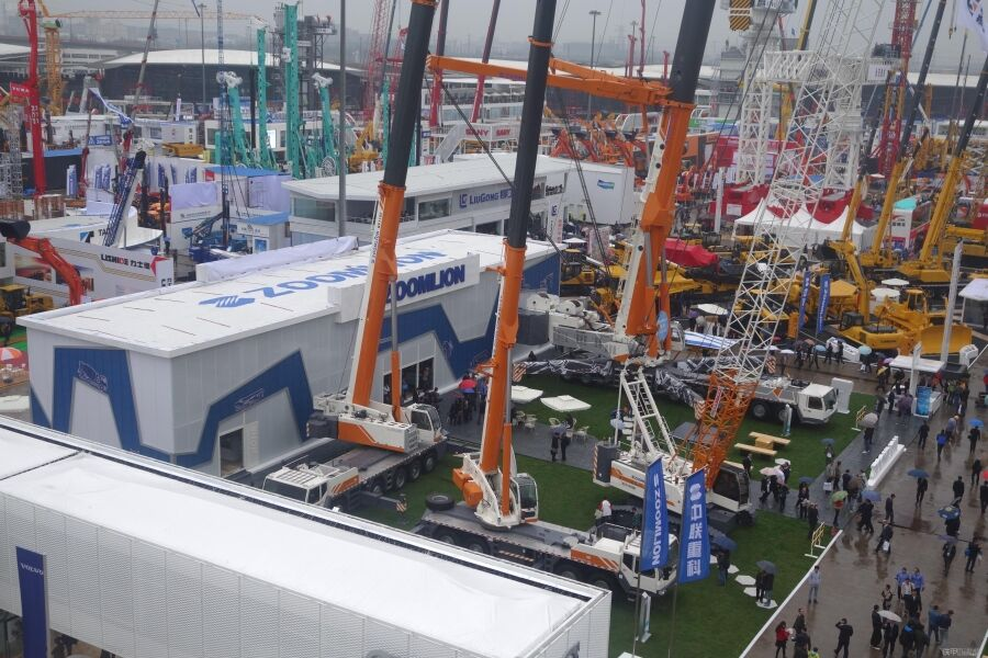 Bauma2014 inaugurates in Shanghai New International Expo Center
