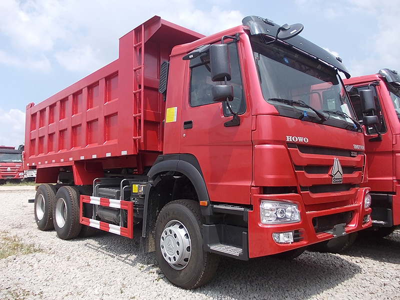 100 HOWO Dump Truck  Was Stationed in Yunnan Dali Beiya Gold Mine